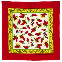 "Bandana ""Hot Chili Peppers"""
