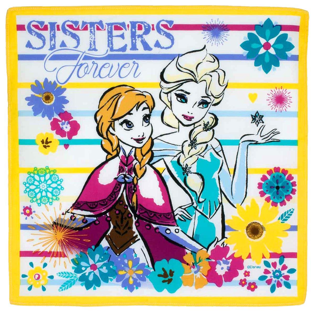 """Mouchoirs """"Elsa & Anna"""" (x3)"""