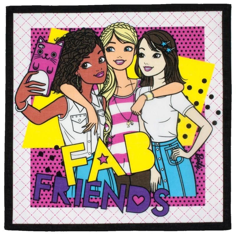 """Mouchoirs enfant """"Barbie"""" (x3)"""