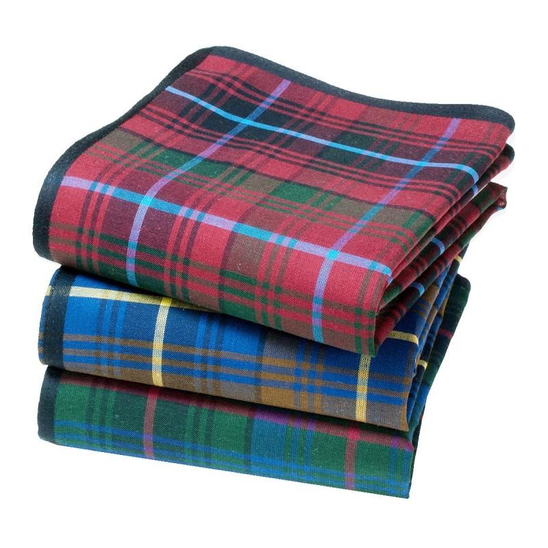 """Mouchoirs """"Aberdeen"""" (x3)"""