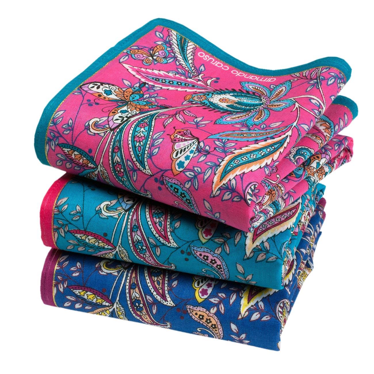 Beaux mouchoirs HESPERIE (x3)